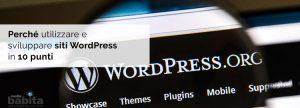icona articolo Perché utilizzare e sviluppare siti WordPress in 10 punti