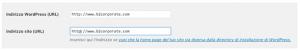 img schermata indirizzo su WP